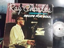 RAY CHARLES INGREDIENTS IN A RECIPE FOR SOUL  LP 1963 RELEASE