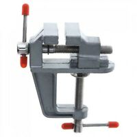 DIY Heavy Duty Work Bench Vice Engineer Jaw Swivel Base Workshop Vise Clip Clamp