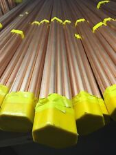 Cheap 15mm x 3m Copper Pipe - Bundle of 10 Pipes British Standard - BRAND NEW