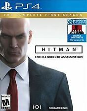 Hitman: The Complete First Season (PS 4, 2017) physical copy Steel Book!