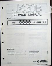 amplifiers in brand yamaha number of channels not specified yamaha jx30b bass guitar amplifier original service manual schematics parts list