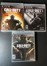 Call of Duty Black Ops 3-Game Bundle [ 1 + 2 + 3 ] (PS3) NEW