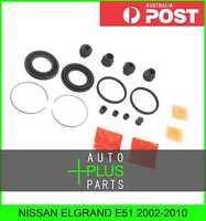 Fits NISSAN ELGRAND E51 2002-2010 Brake Caliper Cylinder Piston Seal Repair Kit
