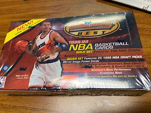 1998/99 Bowman's Best Basketball Hobby Box Dirk Nowitzki Michael Jordan Kobe