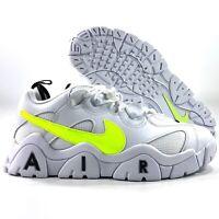 Nike Sportswear Air Barrage Low White Volt Green Black CN0060-100 Men's 9.5-14
