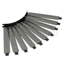More details for black computer chassis pci guard dust filter pack of 10