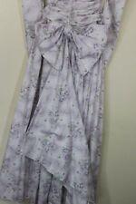 Petite Floral Long Sleeve Full Length Dresses for Women