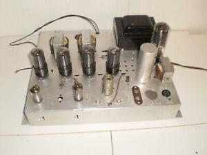 Magnavox Stereo Tube Amplifier 6V6
