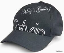 CK Calvin Klein  BaseBall Cap Ball Hat Military NWT  One Size  C.K. Black  Men's