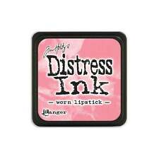 Tim Holtz Mini Distress Ink Pad WORN LIPSTICK Pink, Rose