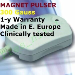 Magnetic Pulser. Magnetic Therapy Device Low Level Freq. Magnet Field. PEMF