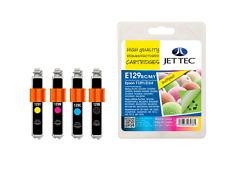 Jet Tec E129B/C/M/Y Multipack Compatible Para Stylus: SX230, SX235W, SX420W, SX425W,