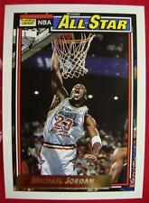 MICHAEL JORDAN 1991-92 TOPPS GOLD ALL-STAR BASKETBALL CARD #115 *BEAUTIFUL CARD*