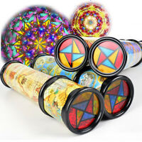 Sensory Development Turn Kaleidoscope Childrens Multi-beam Toy Creative Gift New