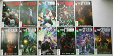 The Strain #1 - 11 Comp Run 1st Print Dark Horse FX TV Show Guillermo del Toro