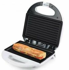 SANDWICHERA ELECTRICA Pannini PLACA grill bocadillos calientes SANDWICH DOBLE