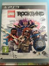 PS3 Lego Rock band, Pre Owned. Instructions Included,Used