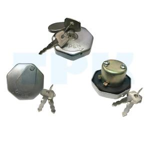 for Mitsubishi L300 L200 FB300 Canter 3.5t Locking Fuel Cap Gas Cap 36mm 2 Keys