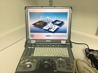GE Logiq E with 3S-RS Ultrasound Probe/Printer/External Multi DVD Rewritter