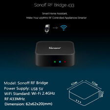 Sonoff RF Bridge 433 MHz Wifi Remote Control Smart Home Automation Module Switch