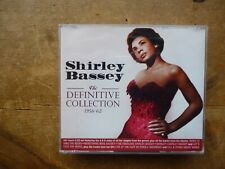 SHIRLEY BASSEY: The Definitive Collection 1956-62: Clean 5 X CDs: 106 trks 201