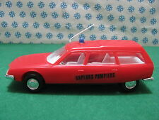 "Ancien Plastique S.A. INJECTAPLASTIC  1/33  - CITROEN  CX  BREAK  "" Pompiers"""