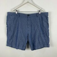 Tommy Hilfiger Mens Shorts Size 42 Blue Chinos With Pockets