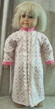 """Doll Clothes Made 2 Fit American Girl 18"""" inch Flannel Nightgown Pink Flowers"""