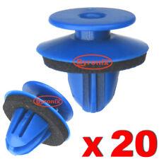 WHEEL ARCH TRIM CLIPS BLUE PLASTIC FOR AUDI Q3 REAR EXTERIOR QUARTER MOULDINGS