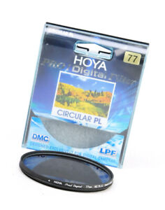 Hoya Pro1 Digital MC PL-C  Circular Polariser 77mm Filter + Storage Case