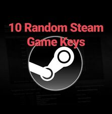 10 Random Steam Game Keys