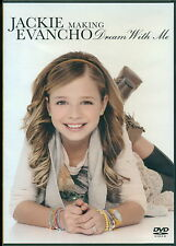 Jackie Evancho Making Dream With Me DVD amazing & rare a must see