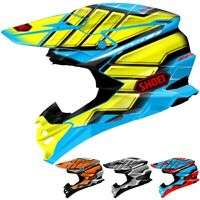Shoei VFX-EVO Glaive Adult Mens Motocross Racing Off Road Dirt Bike DOT Helmets