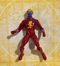 Marvel legends custom CAPTAIN BRITAIN - Black Widow Spider Iron man Red Guardian