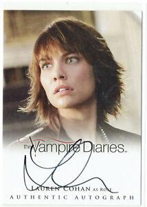 Vampire Diaries Season 2 Autograph Card A15 Lauren Cohan as Rose Walking Dead