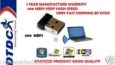 USB Wireless Wifi Dongle Adaptor adapter 2.4GHz 300mbps 802.11N By Terabyte