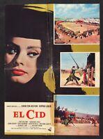 Manifesto el Cid Sophia Loren Charlton Heston España Jimena Media S16