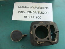 1986 86 87 HONDA TLR200 200 TRIALS oem cylinder piston rings jug barrel REFLEX