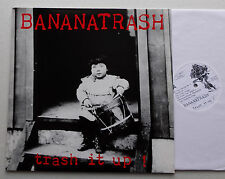 BANANATRASH Trash it up RARE ORIG LP RAVE UP Records (1991) Punk hardcore NEW!!!