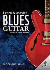 NEW - Learn & Master Blues Guitar 7-Dvd Set