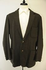 Pendleton Unstructured 3/2 Roll Triple Patch Pocket Donegal Tweed Wool Blazer 46