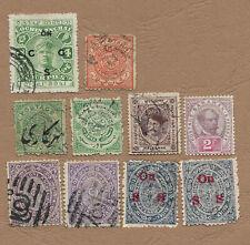 Etats indiens - Sarawak, Cochin Anchal, Travancore, Holkar