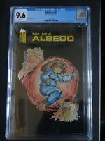 CGC Comic graded 9.6 Albedo #v2 #2  cover Key issue