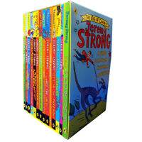 Jeremy Strong Collection 14 Books Set My Mum's Going to Explode! Paperback New