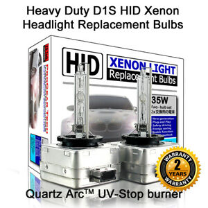 # Heavy Duty D1S D1R HID Xenon Headlight Replacement Bulbs X 2 Mercedes-Benz BMW