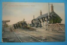 More details for a.h.homewood postcard posted 1908 looking west berwick railway station sussex