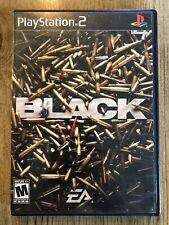 BLACK - Ps2 ( Playstation 2 ) Complete W/box & Manual !