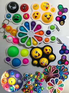 Fidget Toy Simple Dimple Digits Sensory Stress Relief Educational Children Baby