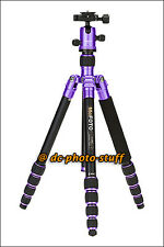 MeFoto RoadTrip A1350Q1 Aluminium Tripod Monopod Kit PURPLE * EXPRESS SHIP