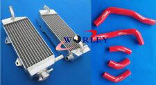 For Honda CRF450 CRF450R 2005 2006 2007 2008 06 07 08 Aluminum radiator + hose